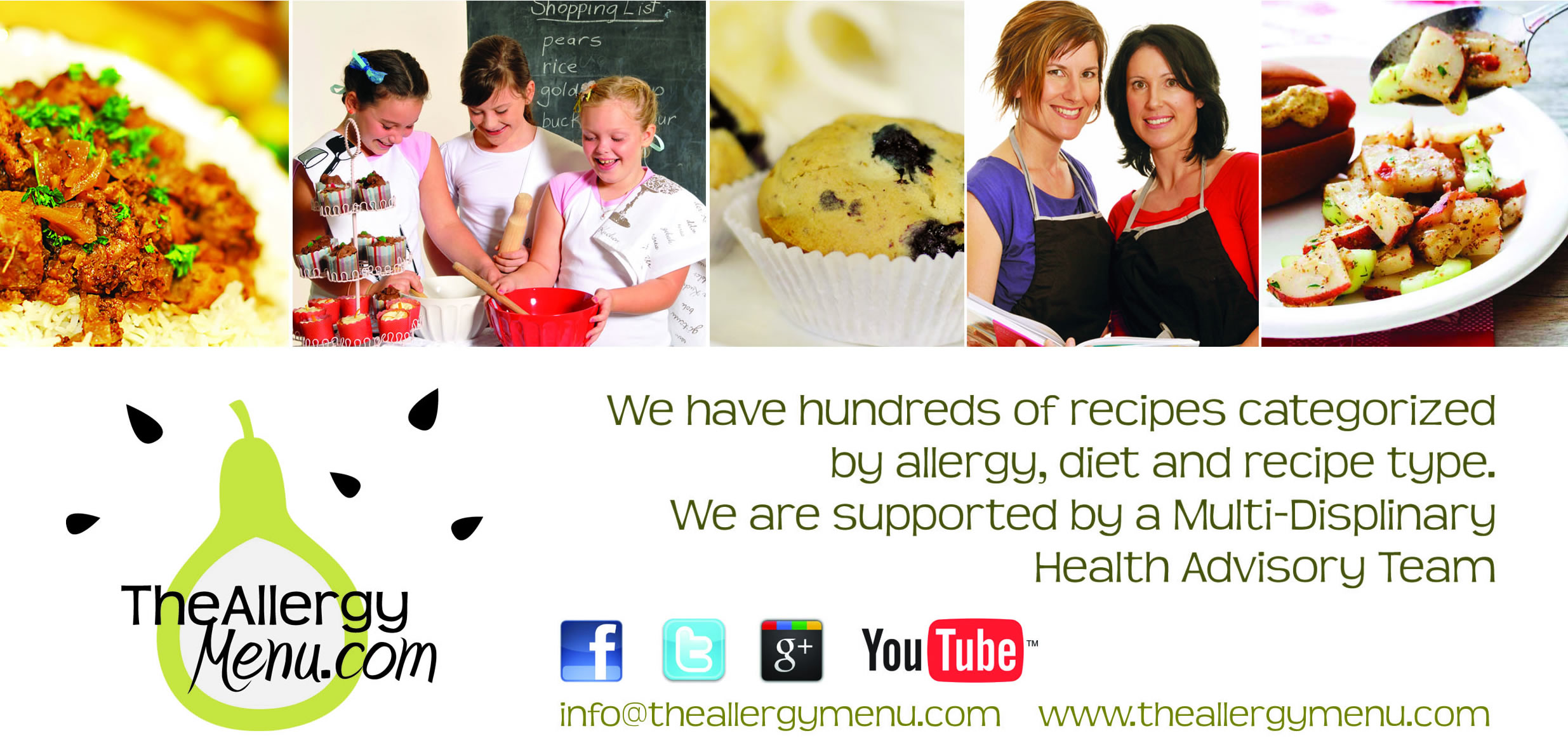 Food allergy website claims high profile nabim wheat allergy an online recipe database with a search function that enables users to customise their recipe search based on their unique combination of food allergies forumfinder Image collections