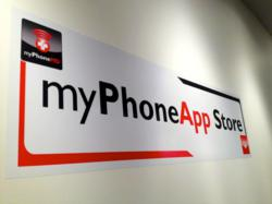 With easy WiFi accessibility and roomy sitting areas, the myPhoneApp Store aims to create an interactive, social atmosphere that reduces buyer's remorse, eliminates anxiety that comes with learning new technology and connects users with free expert advice