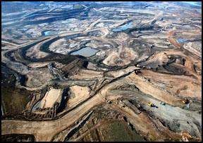 Mining Pit on Diesel Filter