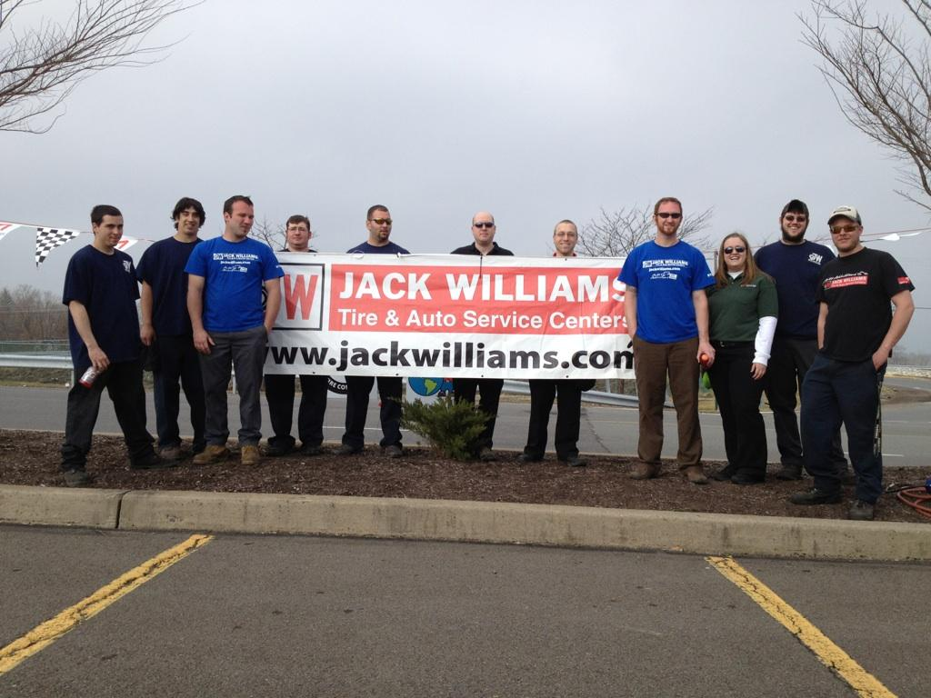 Jack Williams Tire Collects Over 6,000 Used Tires To Be Used As An