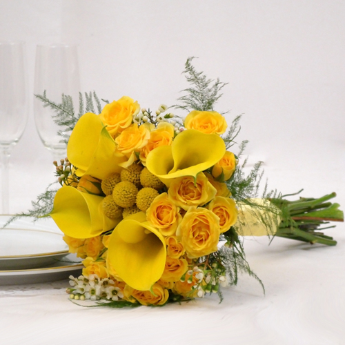 Yellow Wedding Flowers: A New Spring And Summer Solution