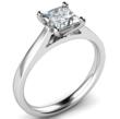 Image of Princess Cut Diamond Engagement Ring