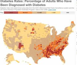 Type 2 Diabetes Interactive Infographic