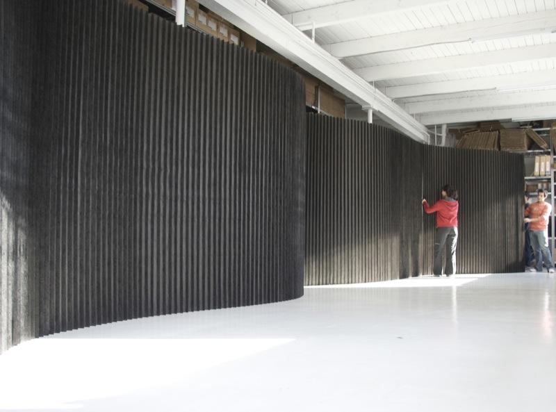 Design Studio Molo Creates Room Divider Sound System