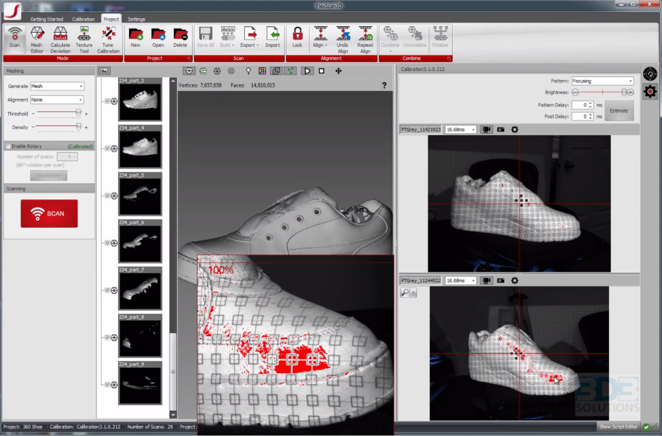3D3 Solutions Releases the Latest Version of FlexScan3D 3 1 3D