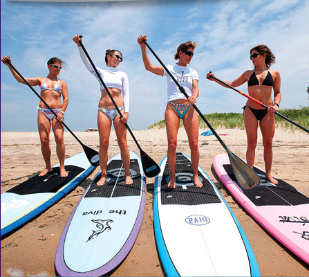 Celebrating Mom with a Stand-Up Paddle  A Non-Traditional Mothers ... 5c986b05f1