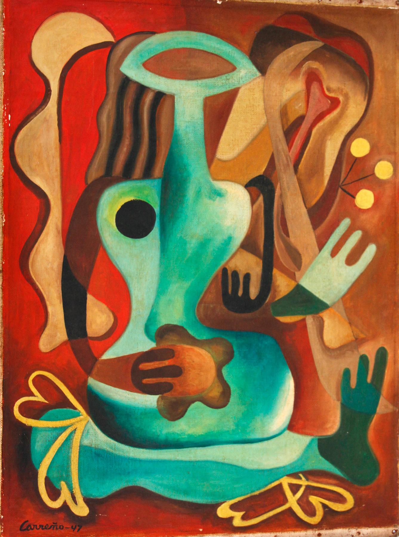 Mario Carreno Cuban 1913 1999 Classic Nude