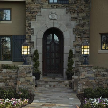 Summer outdoor lighting top ideas for curb appeal and energy savings energy star lightsmoney saving energy star lights grace an outdoor entry aloadofball Gallery