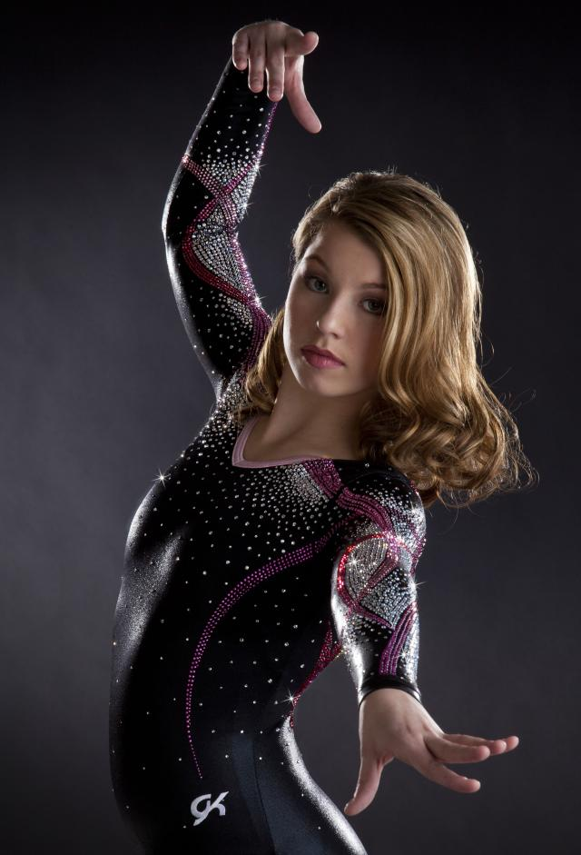 GK Elite Sportswear Delivers Couture Leotard To Lucky