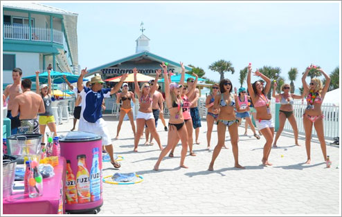 Fuze Interactively Exposed Thousands Of Spring Breakers To Their Product Line