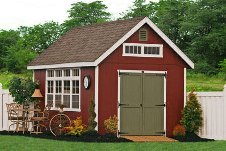 Amish Built Do It Yourself Storage Shed Kits Now Available
