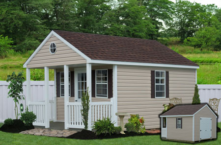 Garden Storage Sheds From NC   The ClubhousVinyl Sheds   Clubhouse In NC