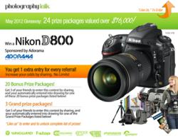 PhotographyTalk Facebook Giveaway
