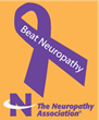 Neuropathy Association Logo and Neuropathy and Neuropathic Pain Awareness Ribbon
