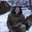 Lisa Kaiman of Jersey Girls Dairy in Chester Vermont