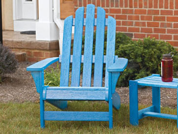 Lovely Resin Adirondack Chair ...