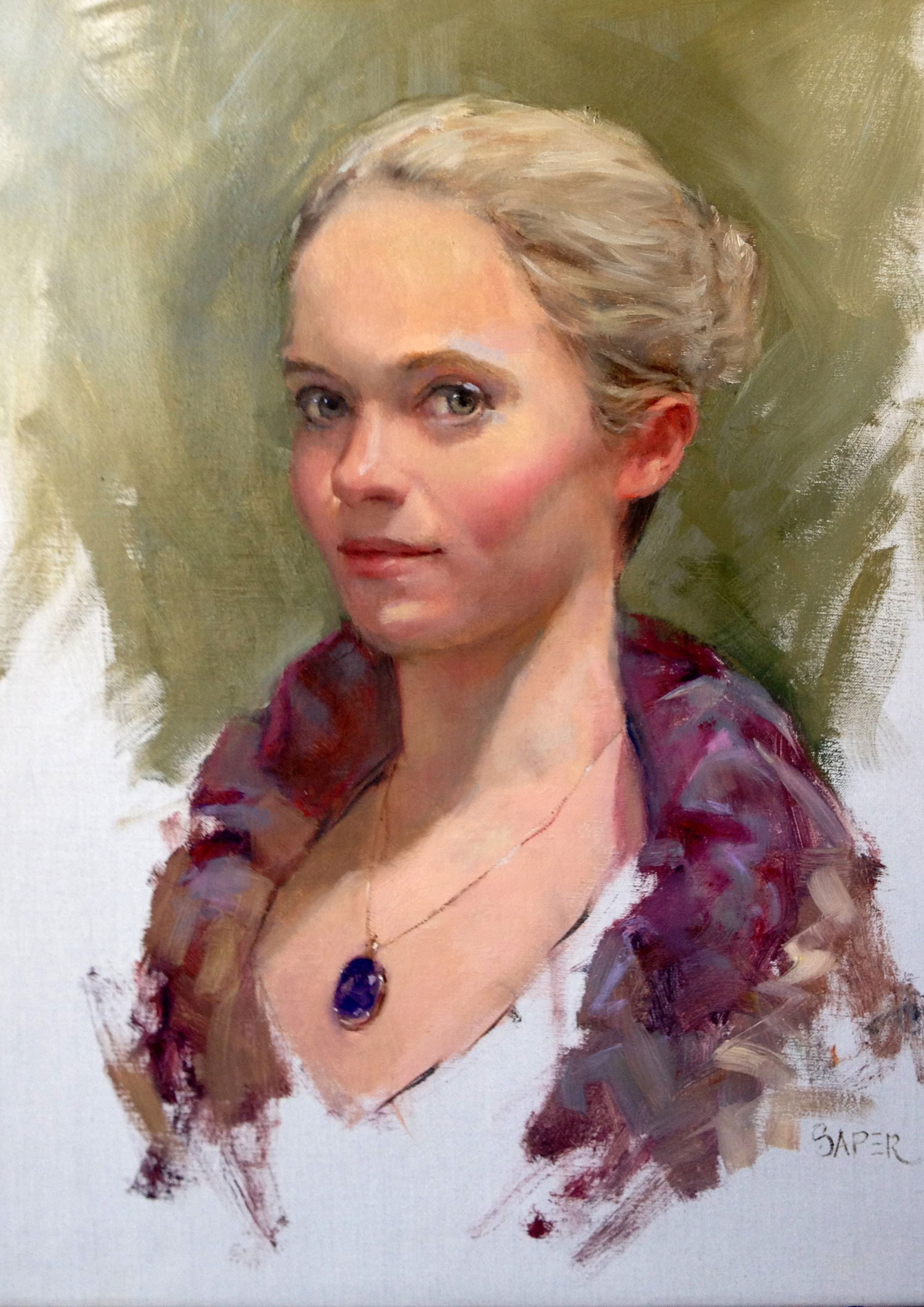 "Portrait Artist Chris Saper Shares Tips on ""How to Paint ..."