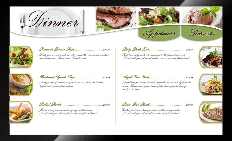 Qa graphics expands digital menu board design services