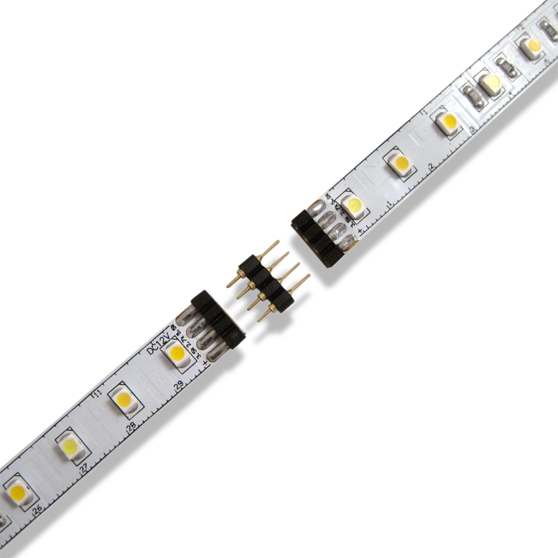Elemental led continues to pioneer with white balance led lighting white balance led strip lights with strip to strip connector aloadofball