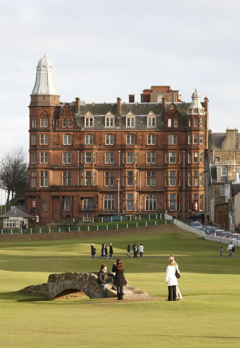 Hamilton Hallthe Most Expensive Flat Apartment In Scotland Is House On The Upper Floors Of Hall Behicnd 18th Green At St Andrews