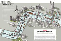 Thames Diamond Jubilee Pageant Map