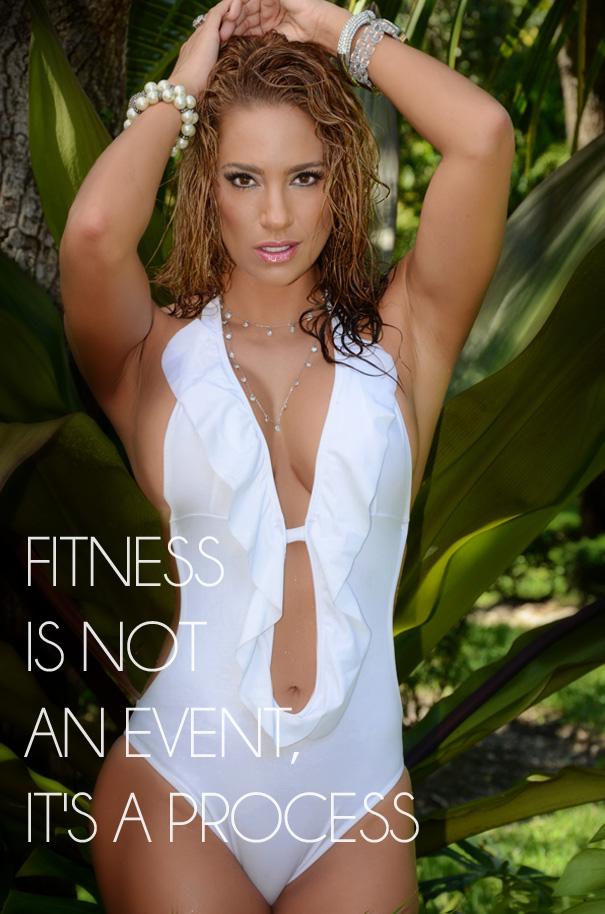 Sexy Fitness Celebrity Jennifer Nicole Lee Heats Up -3989