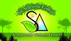 Sai Ayurvedic College is the center for ayurvedic study, practice, treatment and research
