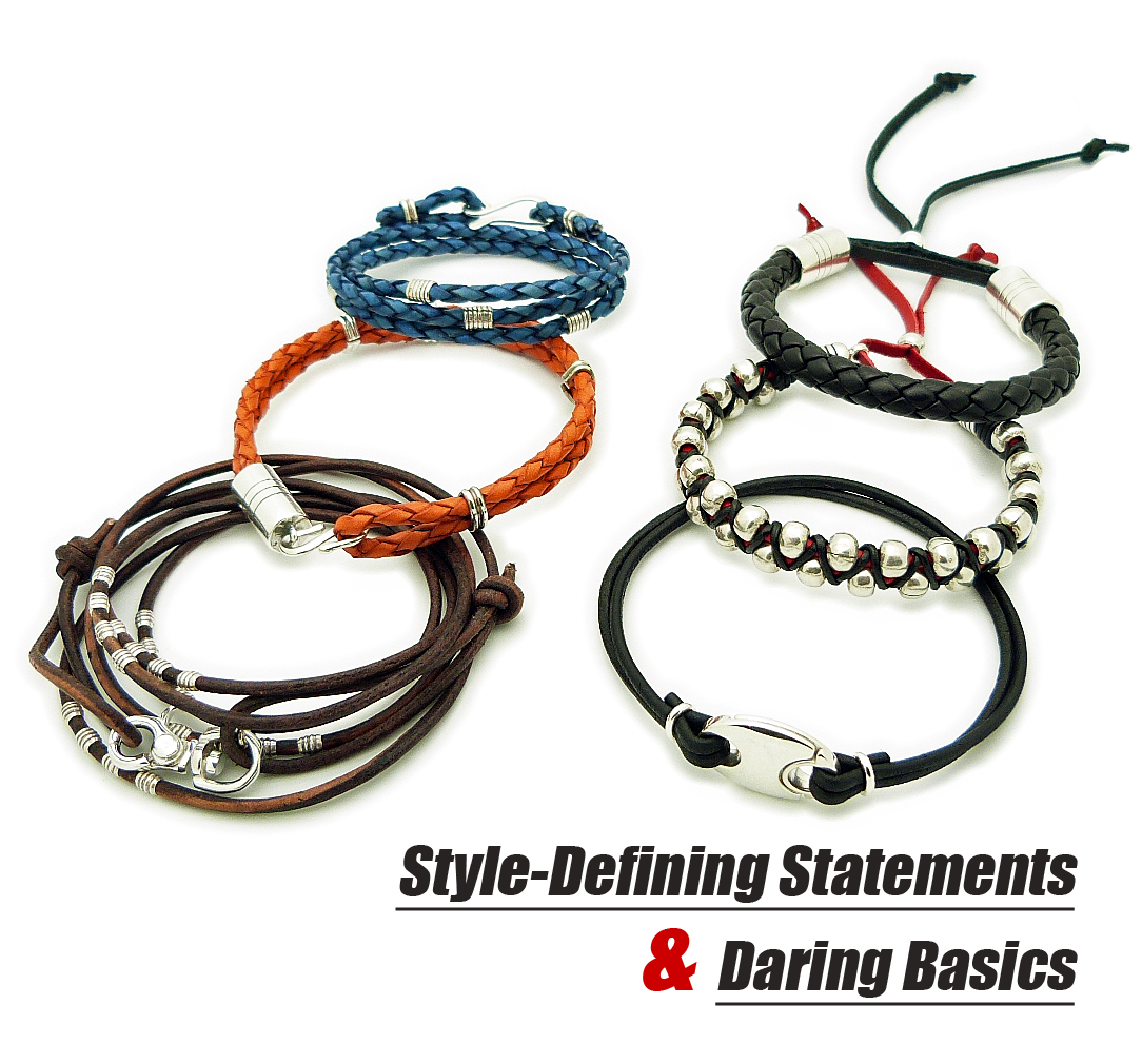 Men's Leather Bracelets by Sivani Desings: An Increasingly ...