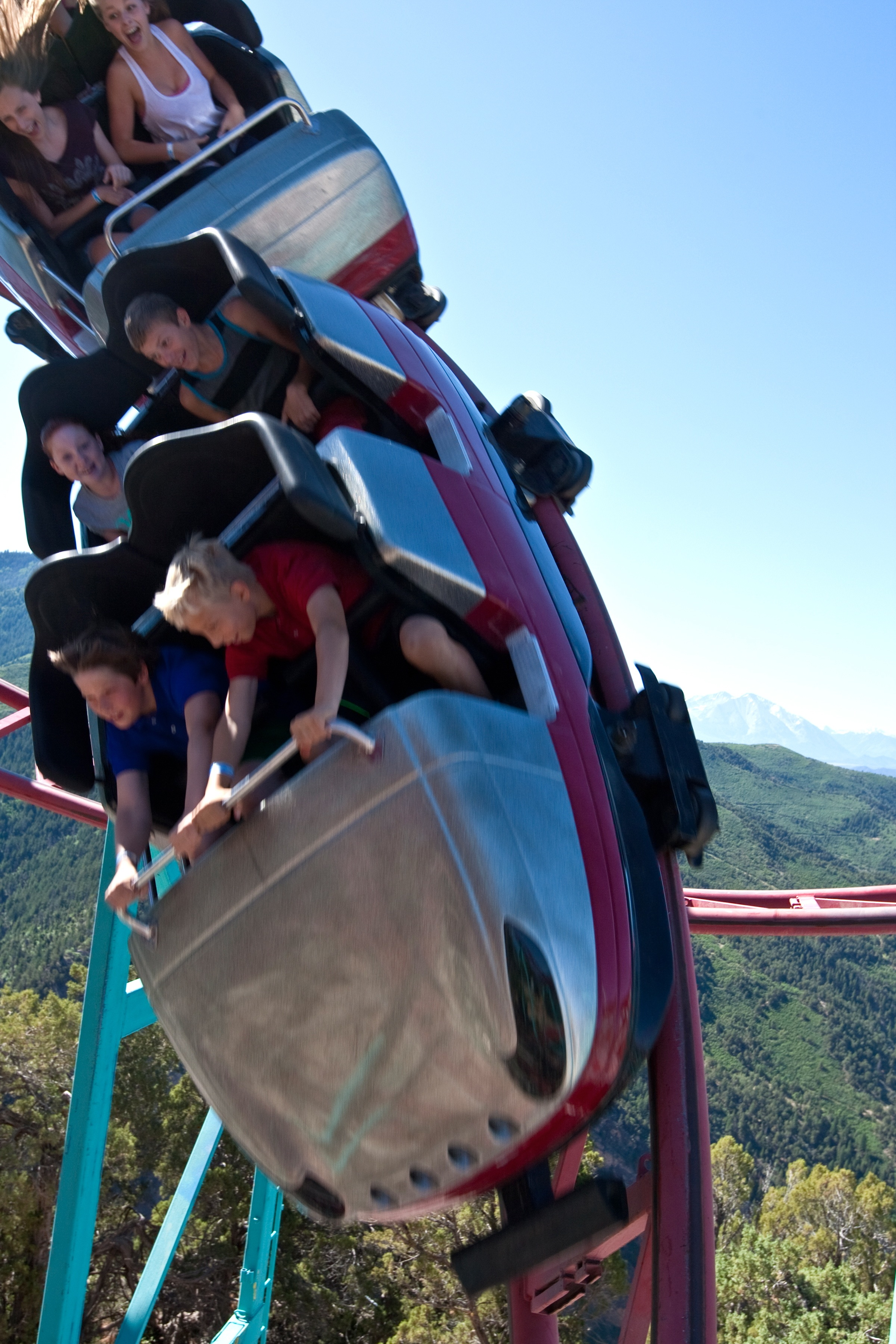 America S Highest Elevation Roller Coaster Opens At