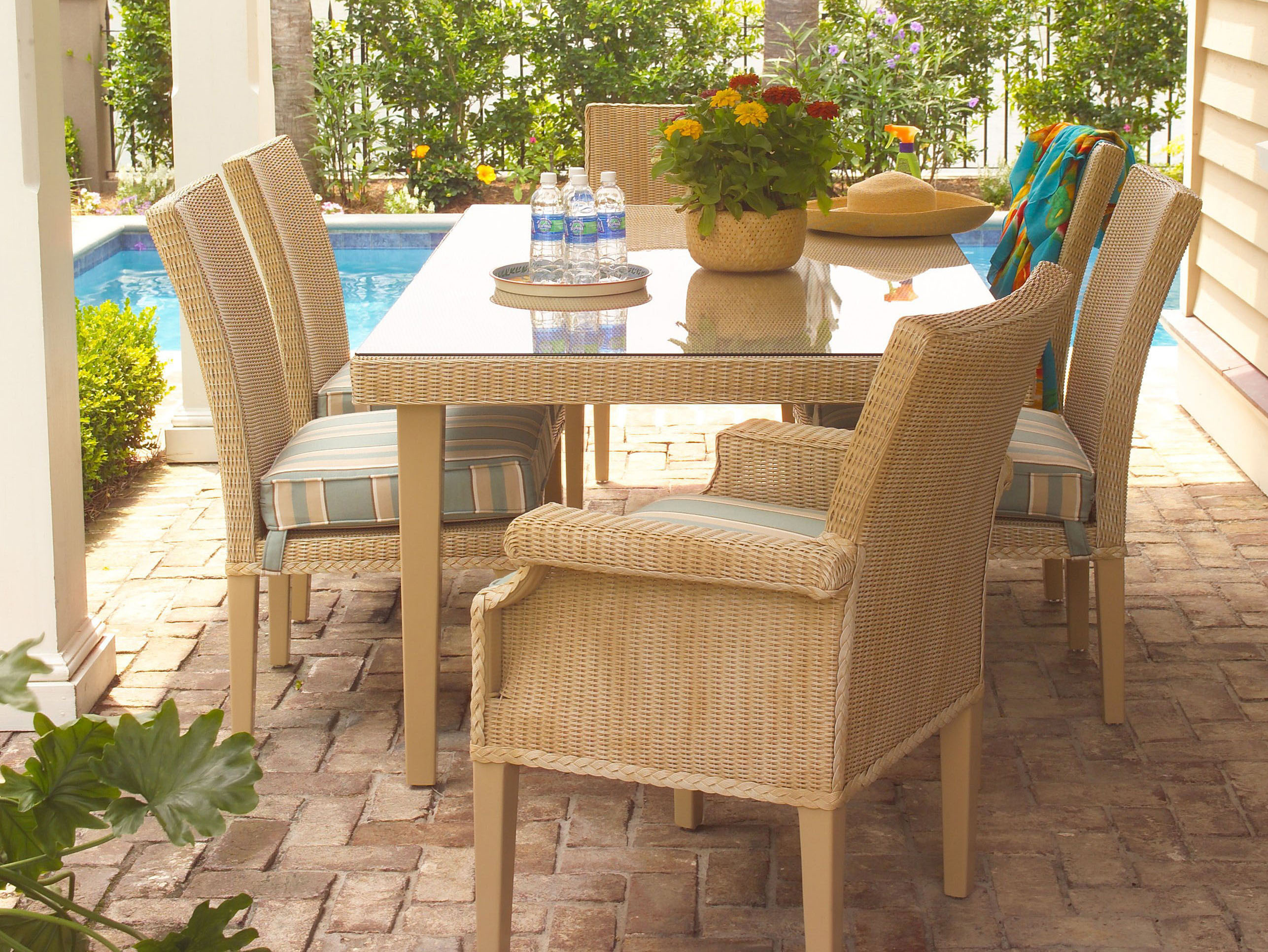 Premiere Adirondack Chairs Promotes Lloyd Flanders Wicker Furniture