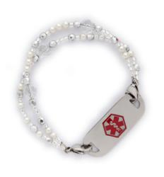 Victoria interchangeable medical ID bracelet
