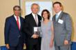 Raj Singh, GMBHA's Chairman of the Board; Hervé Houdré, InterContinental New York Barclay's Director & GM; Wendy Kallergis, GMBHA's President & CEO; & Robert Hill, GM, InterContinental Miami