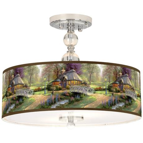 Thomas Kinkade Paintings Now Available On Giclee Printed