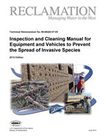 The cover of the Equipment Cleaning and Inspection Manual