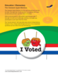 The Caramel Apple Election back cover
