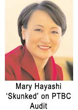 Mary Hayashi Audit comes up empty wastes $200,000 of taxpayer money!
