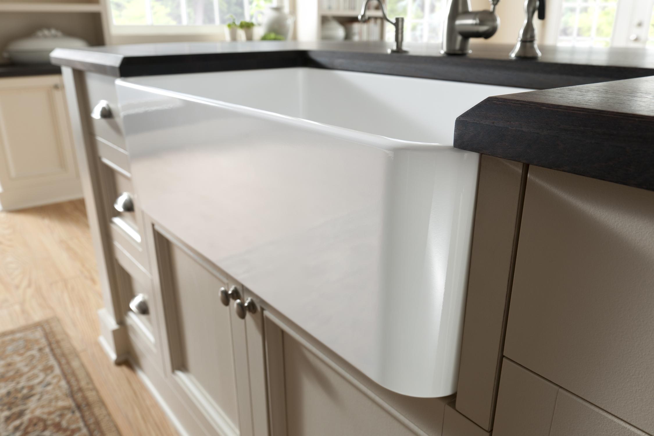Cabinet Under Sink In Kitchen
