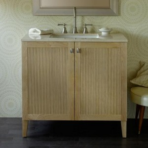 A Selection Of Real Wood Modern Bathroom Vanities For A