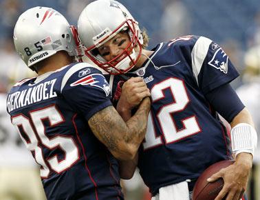 New England Patriots Aufstellung