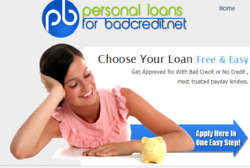 Bad Credit Personal Loans With No Credit Check - The ...