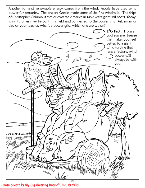 Energy Coloring Books by ColoringBook.Com: Including facts ...