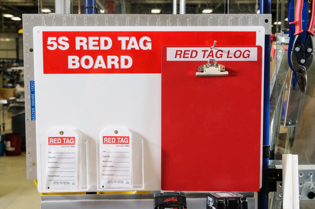 Brady Launches Red Tag Product Line to Assist with the 5S ...