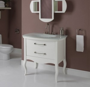 remarkable curved front bathroom vanity   A Selection of Modern Bathroom Vanities with A Little ...