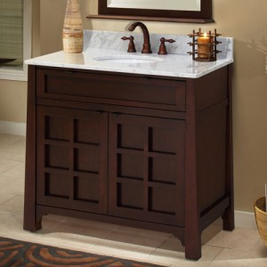 Traditional Asian Style Double Vanity WLF6017 Legion Asian Influenced  Modern Bathroom ...