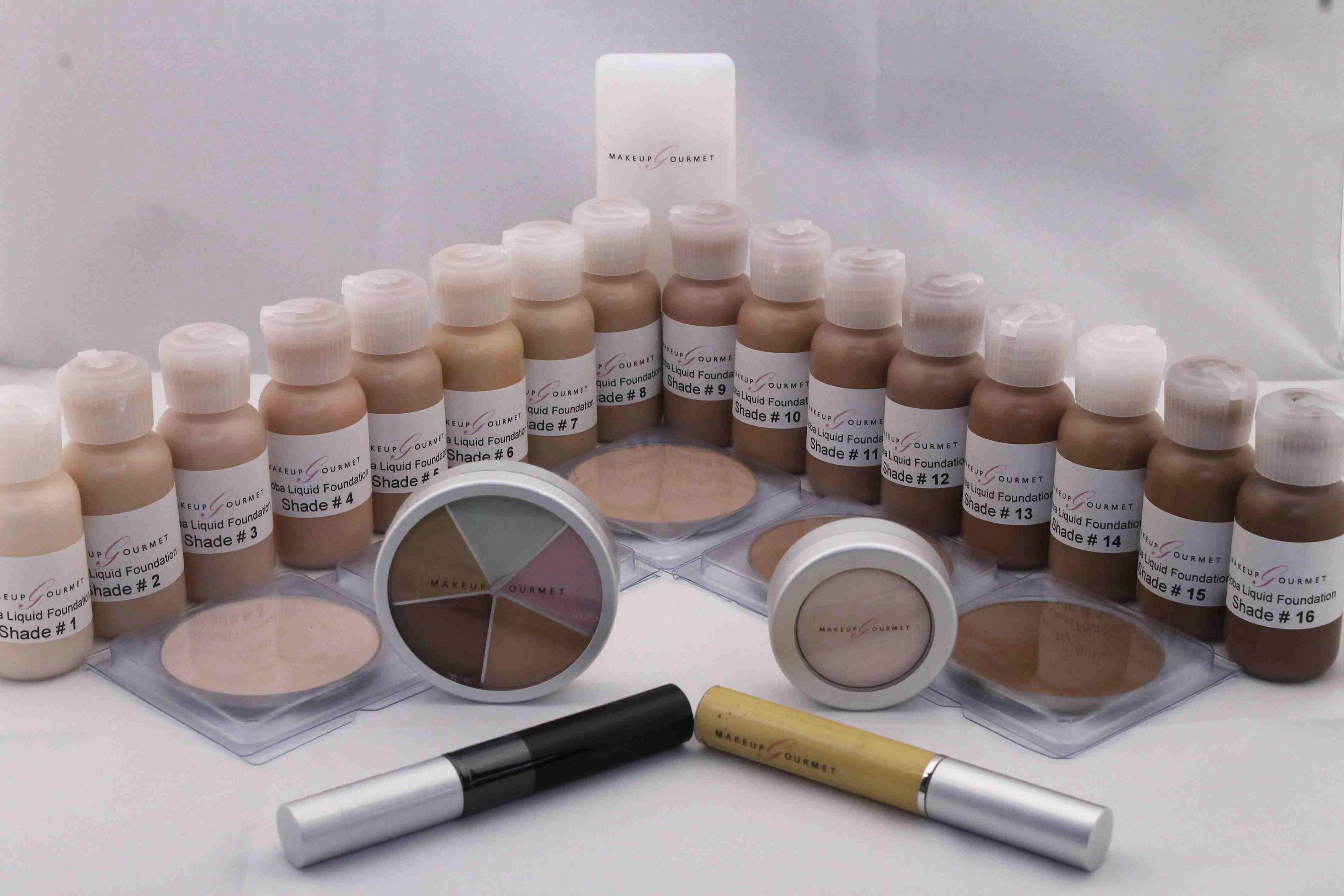 Makeup Artist Liquid Foundation Kit