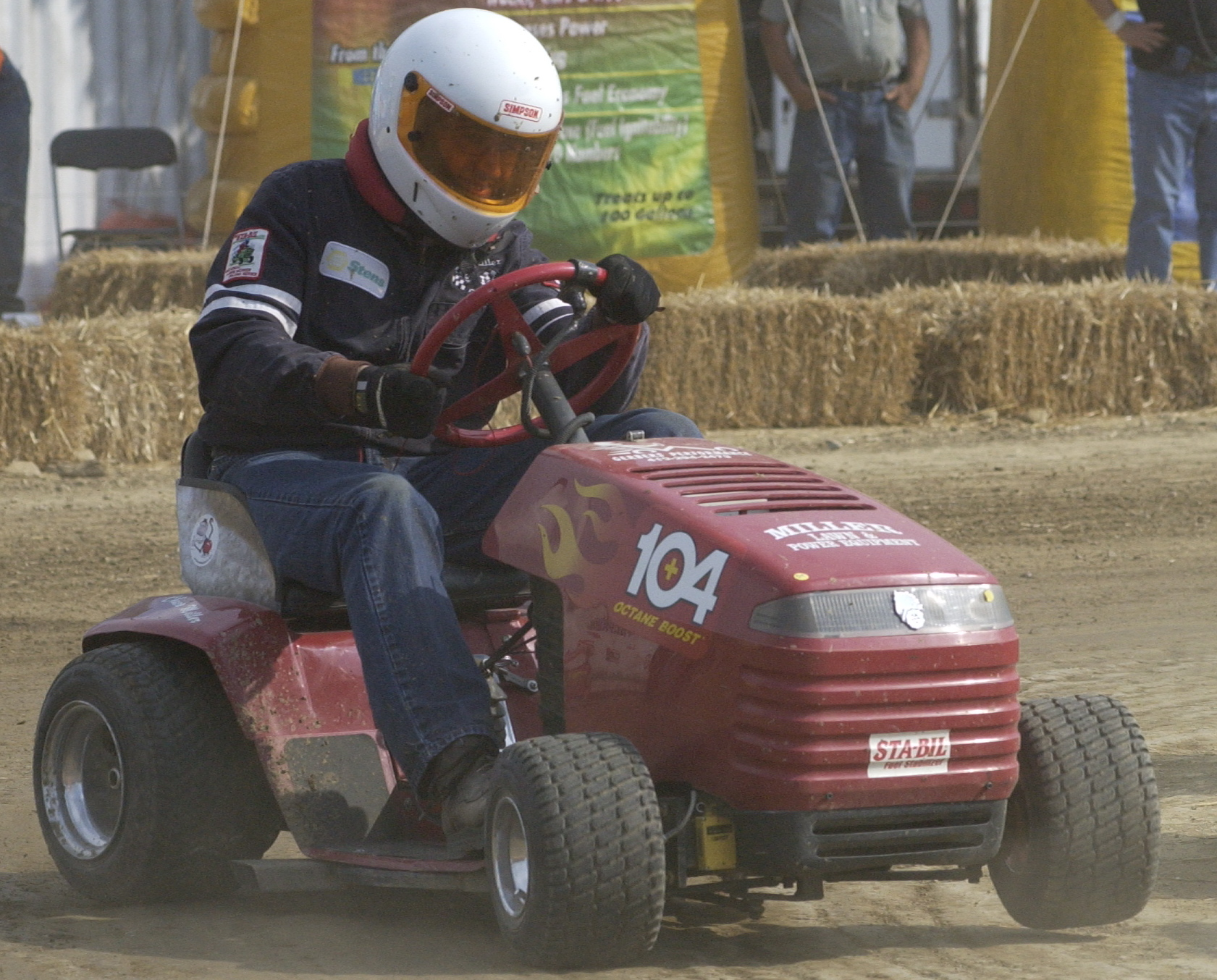 Lawn Mower Racing >> Gold Eagle's Engine Answerman Powers World's Fastest Lawn Mower to Maryland for STA-BIL National ...