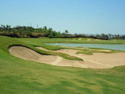Nayar golf course with and and water hazards