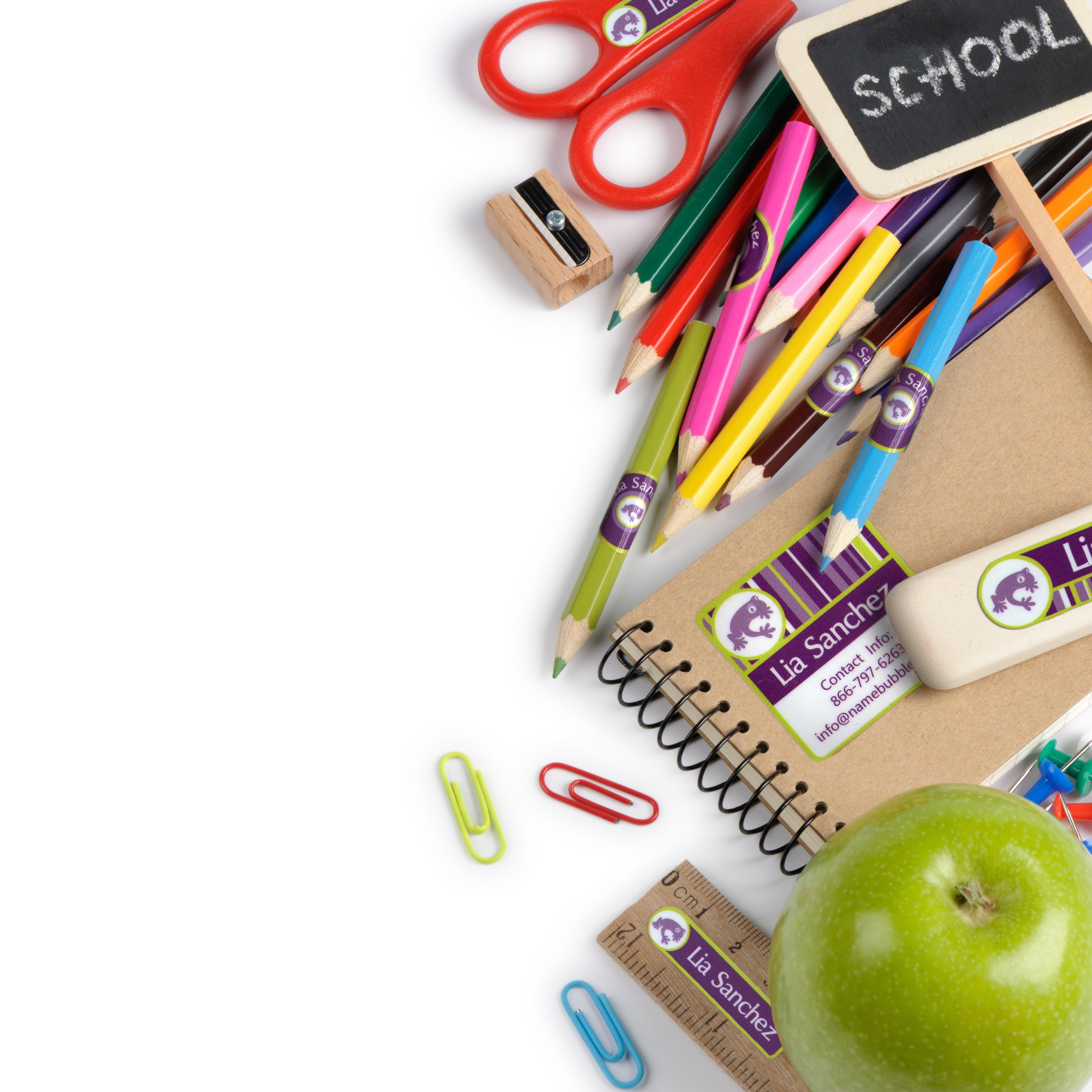 New For Back-to-School: Name Bubbles Launches Lunchbox Labels