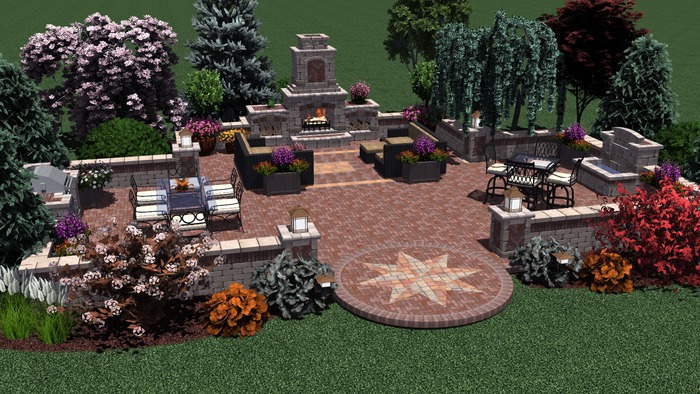 3D Virtual Property Patio Design3D Virtual Properties Serve As A Powerful  Presentation Tool For The Landscape Professional And A Key Visualization  Tool For ...
