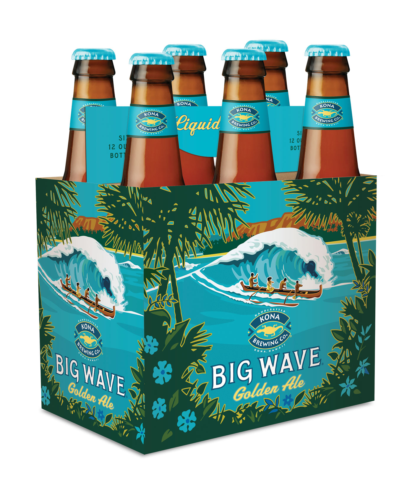 Big Wave Golden Ale From Kona Brewing Company Hits The